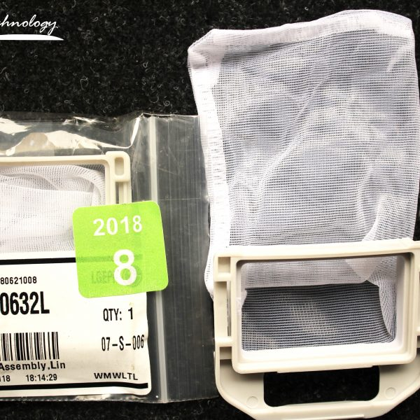 Filtro atrapa pelusa para lavadora LG chico3W50632C